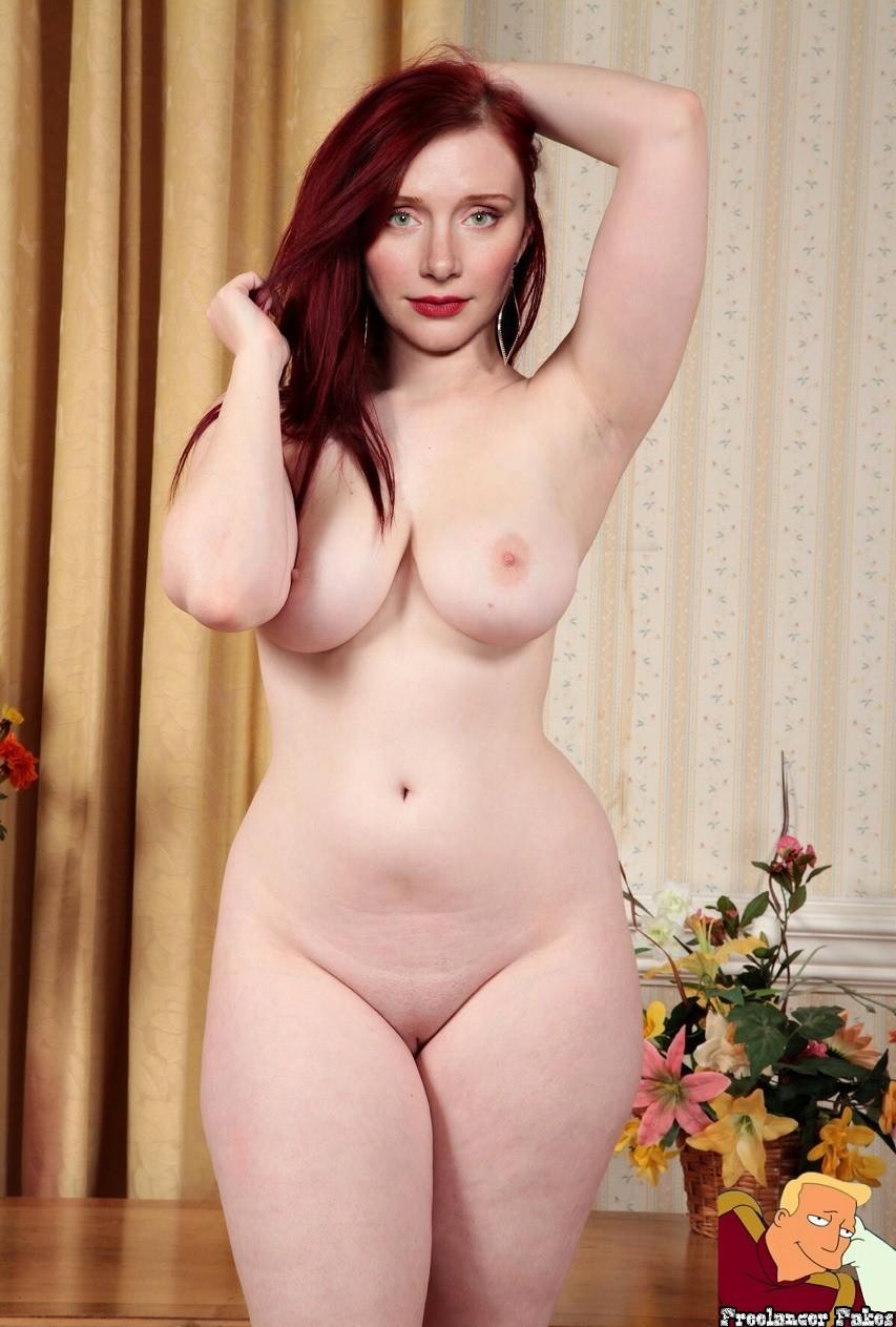 Curvy Naked Redheads