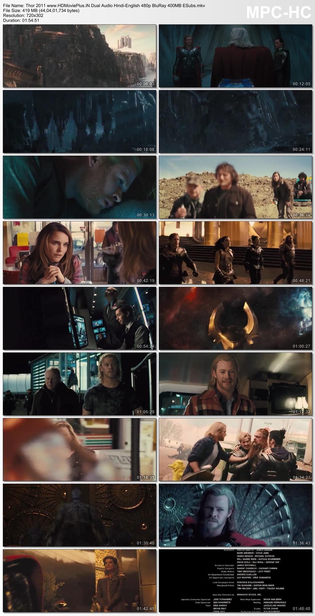 Thor 2011 Dual Audio