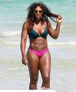 Bikini Babe: Serena Williams in Miami