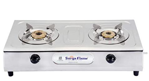 Surya Flame 2B Majestic Gas Stove