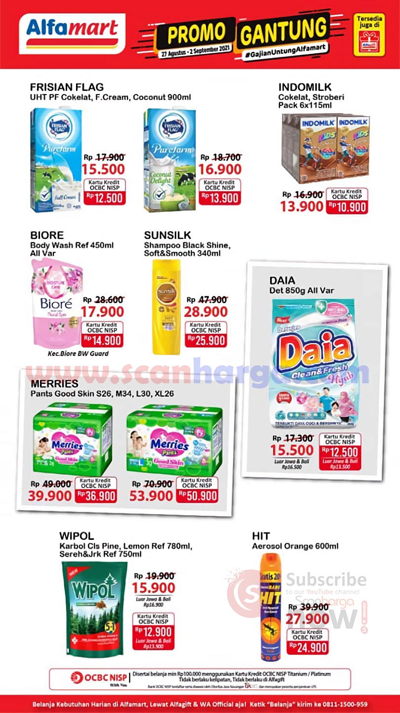 Katalog Promo JSM Alfamart Weekend 27 Agustus - 2 September 2021 4
