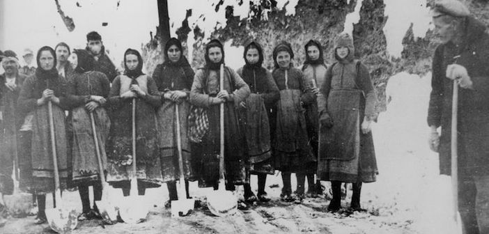 31 January 1941 worldwartwo.filminspector.com Greek women war workers