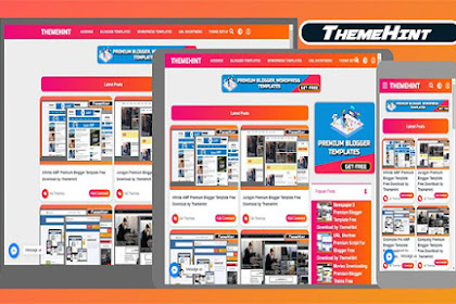 ThemeHint Premium Blogger Template Free Download by ThemeHint