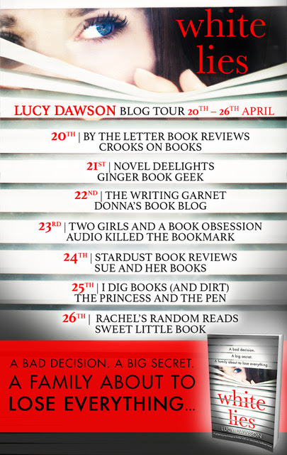 Book Review - White Lies by Lucy Dawson - Blog Tour