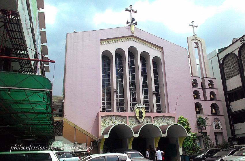 philippine confessions schedule santa clara de montefalco