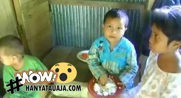 Bocah TK Berusia 6 Tahun Jadi Tulang Punggung Keluarga?