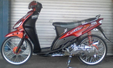 ide modifikasi motor mio sporty ring 17