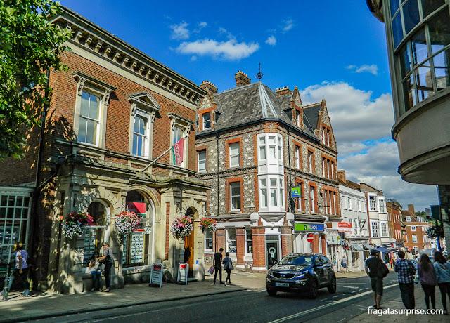 Centro Histórico de Winchester, Inglaterra