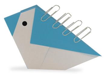 gấp xếp con chim biết đứng bằng giấy origami - How to fold a bird stand