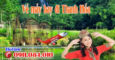 Mua vé máy bay giá rẻ đi Thanh Hóa