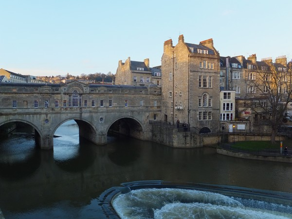 bath avon pulteney bridge pont