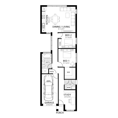 Minimalist Home Design Type   For Sensible Occupancy - Minimalist house type 36