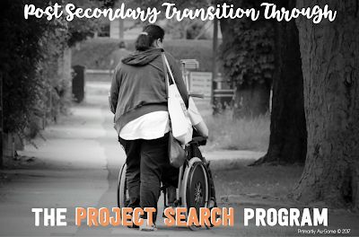 Post Secondary Transition through Project Search