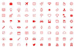 Template Icon untuk Powerpoint dan Keynote