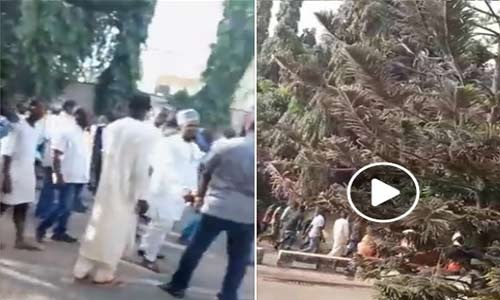 David Lyon: Protesters Storm Justice Mary Odili's Private Residence In Abuja….…Calls For Her Resignation