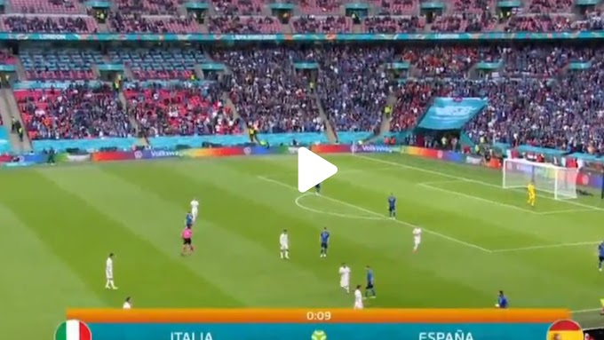 Italy  1:1  Spain / UEFA Euro 2020