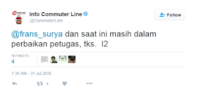 Hate Speech Gara-gara LCD Stasiun Cawang Rusak