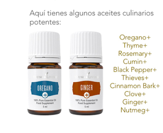 Gama Aceites esnciales Plus Ypung Living