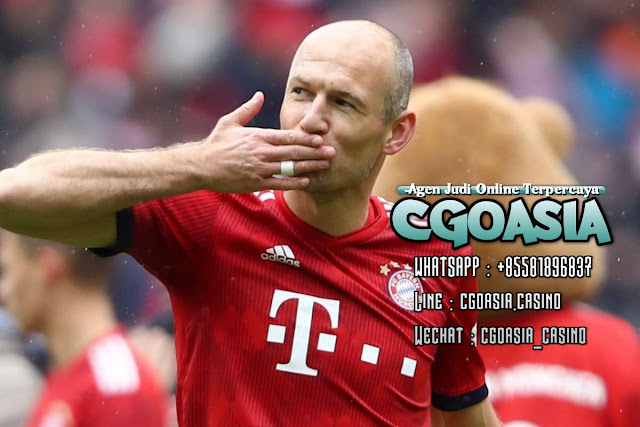 Arjen Robben diincar untuk kembali bermain oleh Klub Brazil. - Rumahsport.com
