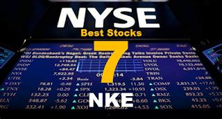7 Best Stocks : NYSE:NKE Nike stock price forecast