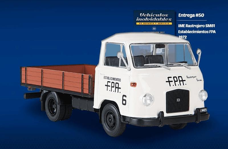 IME Rastrojero Frontal 1972 Establecimientos F.P.A.
