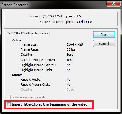 Phần mềm quay màn hình - FastStone Capture