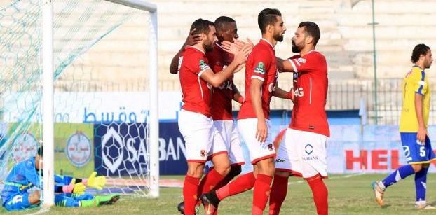 الأهلي يفوز على التعدين بثلاثة أهداف نظيفة ويتصدر الدوري العام المصري