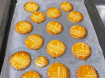 Baked out of oven Galettes Bretonnes or Salted Biscuits
