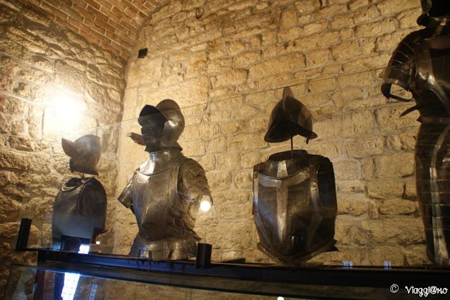 Interno del Museo delle Armi antiche di San Marino