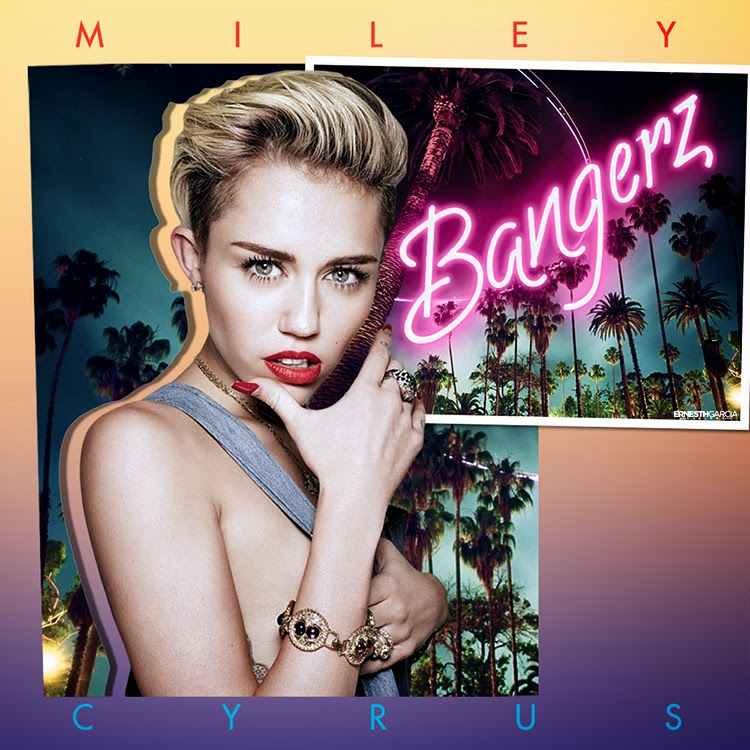 Miley Cyrus - Bangerz | Ernesth García Designs
