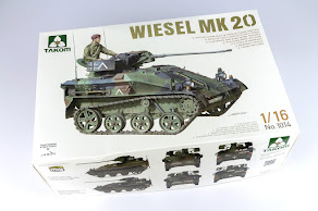 Review: 1/16th scale Wiesel Mk 20 from Takom