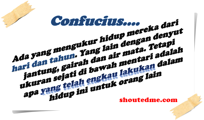 kata kata bijak confucius