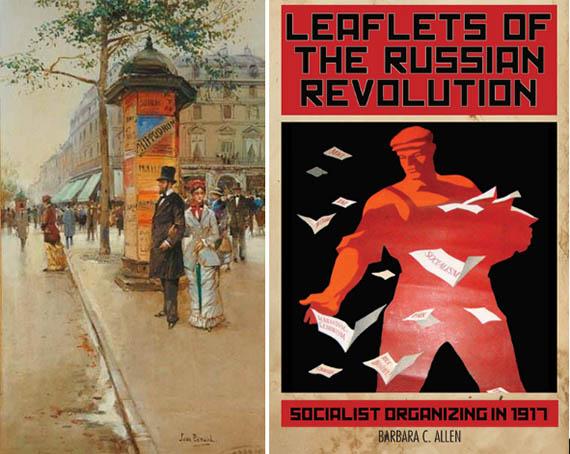 Mupi propaganda soviética leaflets