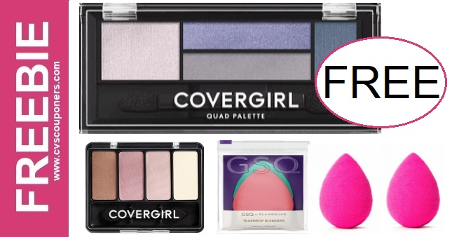 FREE CoverGirl Eyeshadow Palette at CVS