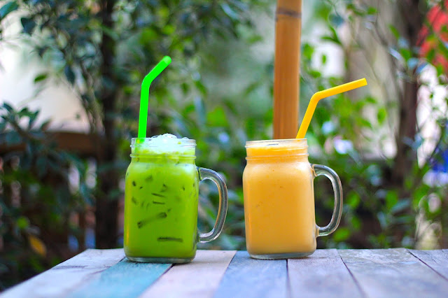 Drink Green Tea Travel Blogger Photography Chiang Mai Thailand