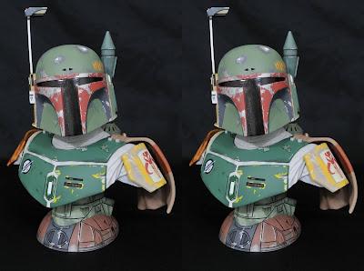 Star Wars: Empire Strikes Back Boba Fett International Edition Legends in 3D Resin Bust by Gentle Giant