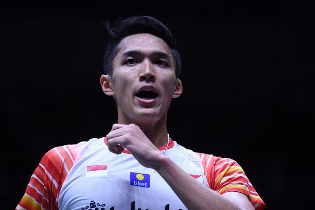 Jonatan Christie Tatap Perempat Final Di Indonesia Open 2019