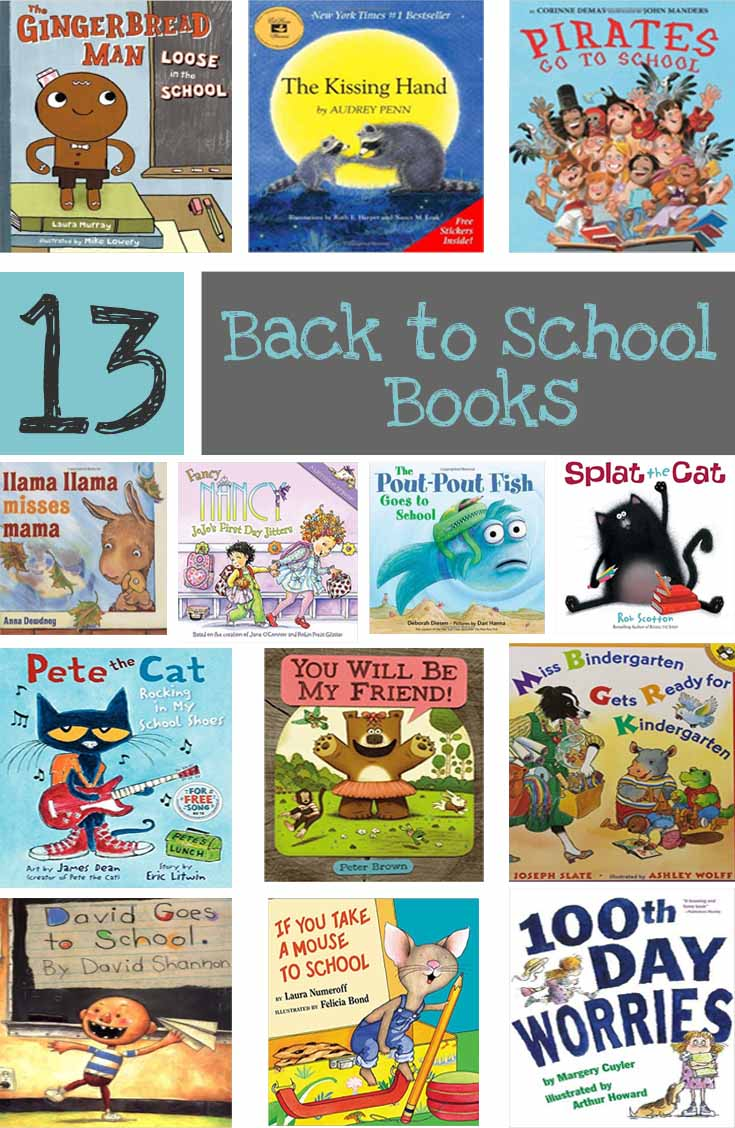 Great Books for Back to School