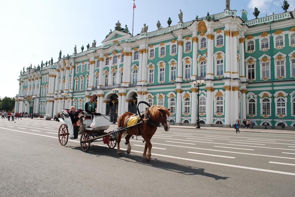 Sankt Petersburg - miasto pałaców, mostów i złota