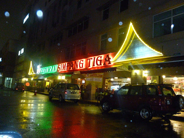 Restoran Simpang Tiga Ipoh malam