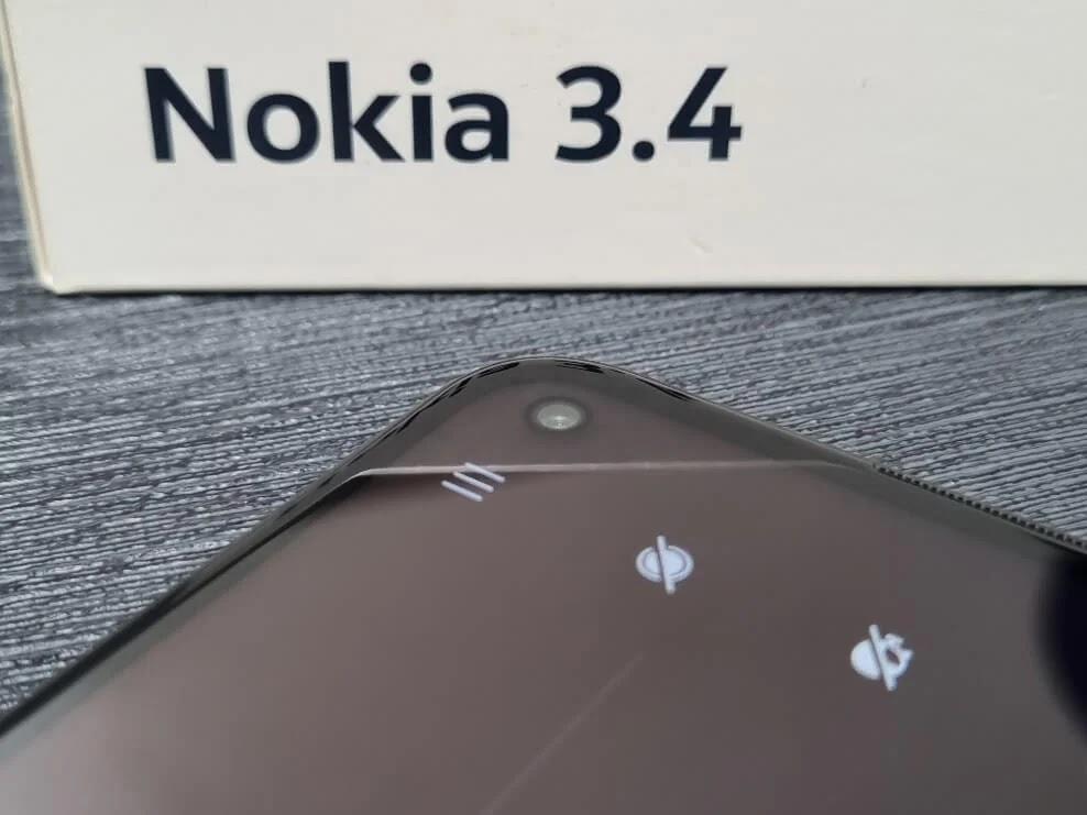 Nokia 3.4 8MP Front Camera