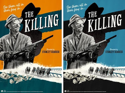Stanley Kubrick's The Killing Screen Print by Gilles Vranckx x Mad Duck Posters