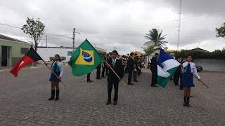 Encontro de Fanfarras marcou Dia da Independência em Baraúna