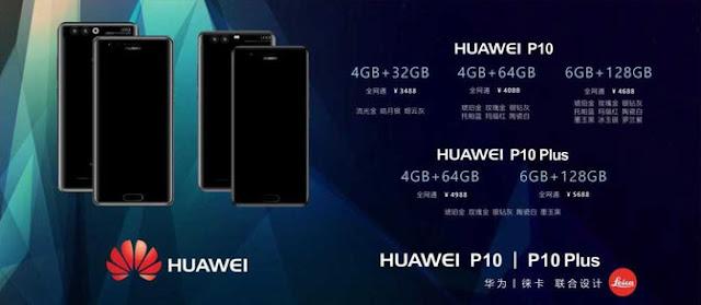 Gambar promo Huawei P10 dan P10 Plus beredar, konfirmasikan spesifikasi serta harga