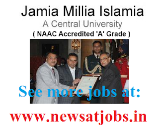 Jamia+Millia+Islamia+University+Recruitment