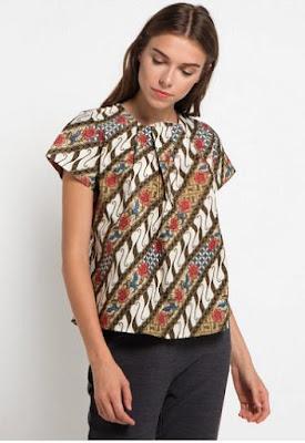 Contoh Model Batik Terbaru