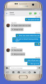 BBM Mod Like IOS APK Versi Terbaru