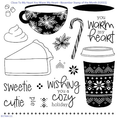 You Warm My Heart - CTMH SOTM November 2020