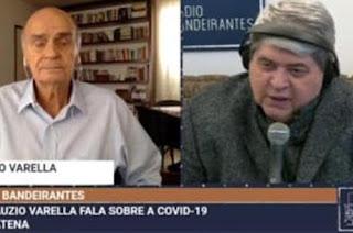 Datena abandona entrevista com Drauzio ao saber da morte da sogra