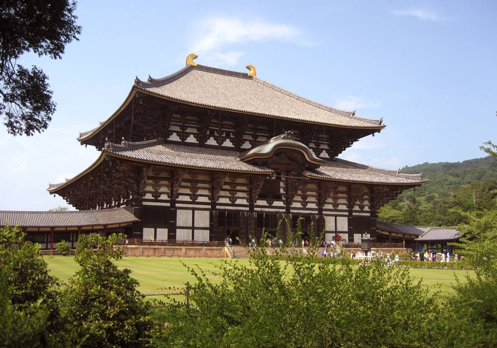 Todaiji Temple in Japan